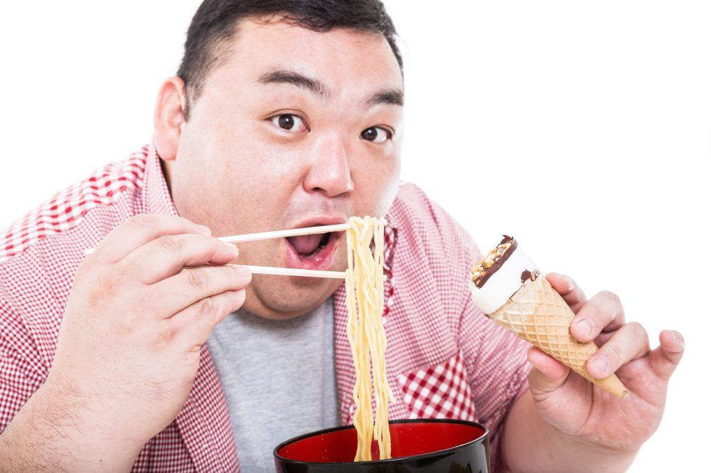 食べたいものを食べたいだけ食べるのイメージ