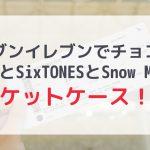 【セブンイレブン】SixTONESとSnow Manのチケットケースがもらえる!?